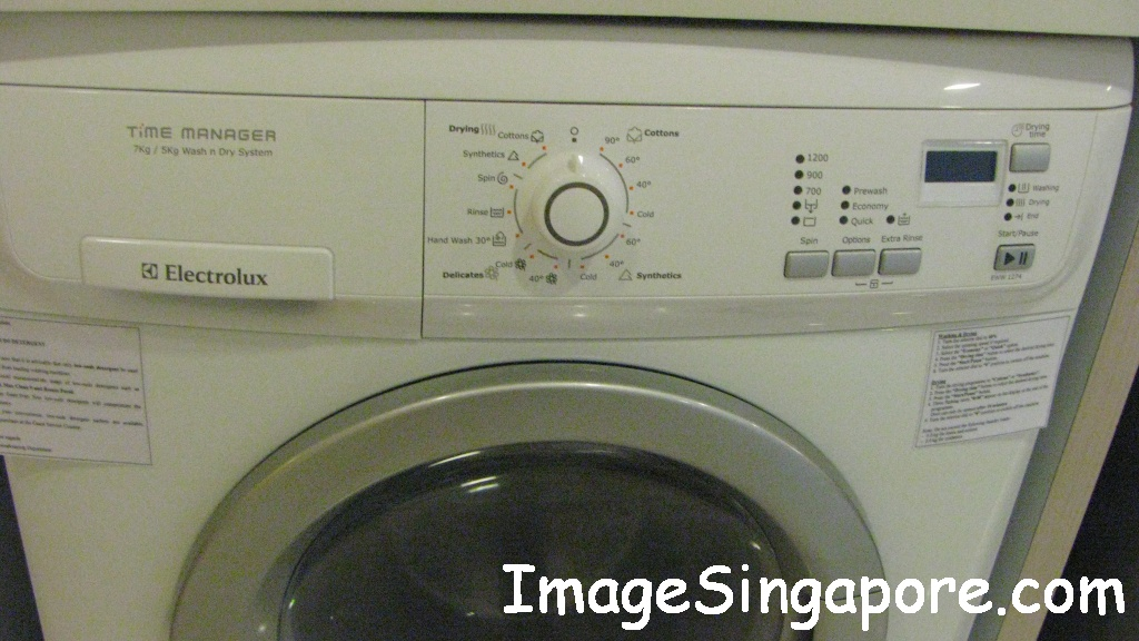 Electrolux Washer Dryer Beginningless