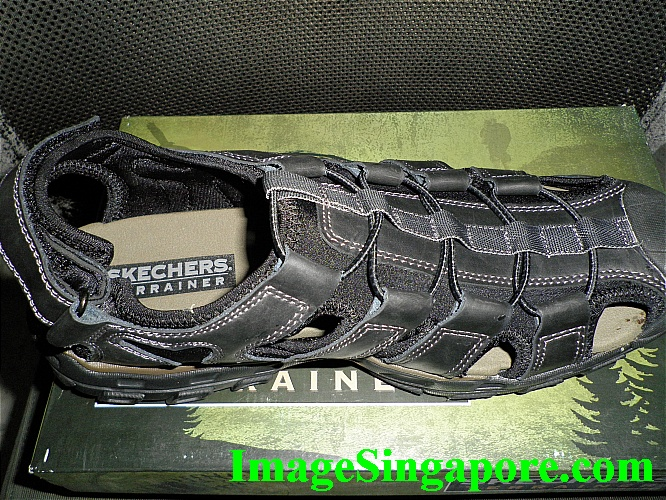 Skechers Terrainer - total comfort when wearing it.